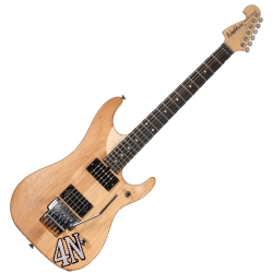 Washburn 4N-D Nuno Bettencourt Signature USA 6 String RH Electric Guitar with Hard Case-Matte Natural