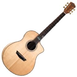 Washburn BTSC56SCE-D Bella Tono Allure 6 String RH Acoustic Electric Guitar-Gloss Natural