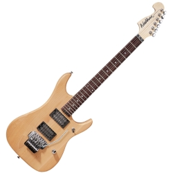 Washburn N2NMK-D Nuno Bettencourt N2 Authentic Signature 6 String RH Electric Guitar-Natural Matte with Gig Bag