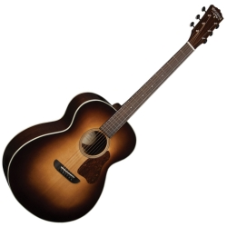 Washburn RSG200SWEVSK-D Revival Solo DeLuxe RH 6-String Acoustic Electric-Vintage Sunburst with case (discontinued clearance)