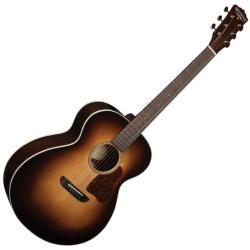 Washburn RSG200SWVSK-D Revival Solo DeLuxe 6-String RH Acoustic Guitar-Vintage Sunburst with Deluxe Hard Case