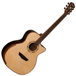 Washburn WCG25SCE-O Comfort Series Grand Auditorium Deluxe Cutaway 6-string RH Acoustic Electric Guitar-Natural