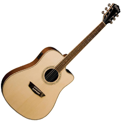 Washburn WCD18CE Comfort Series 6 String Acoustic Electric Guitar (discontinued clearance)