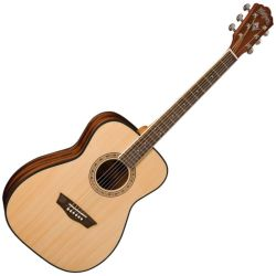 Washburn WF5K Apprentice 6 String RH Acoustic Folk Guitar with Case (discontinued clearance)