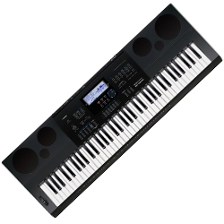 Casio WK6600 76 Note Piano Style Portable Keyboard with AC Adapter