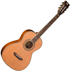 Washburn WP11SNS Parlor Series 6 String Classical Acoustic Guitar