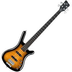 Warwick R504V590CR Almond Sunburst RockBass Corvette Classic Active 4 String RH Bass Guitar