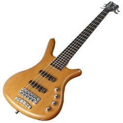 Warwick R505P050CR Honey Violin RockBass Corvette Basic Passive 5 String RH Bass Guitar