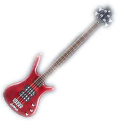 Warwick R584_010CR Burgundy Red RockBass Corvette $$ Active 4 String RH Bass Guitar