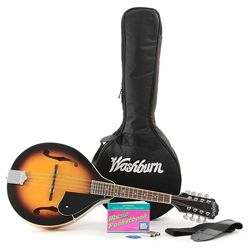Washburn M1K Package with M1 Mandolin Gig Bag and Accessories (Discontinued Clearance)