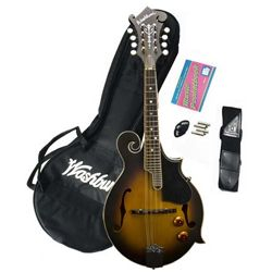 Washburn M3EK Package with M3E Mandolin Gig Bag and Accessories (Discontinued Clearance)