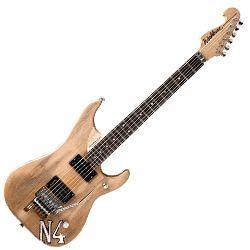 Washburn N4AUTHENTIC Nuno Bettencourt Signature N4 Replica 6 String RH Electric Guitar in Distressed Matte