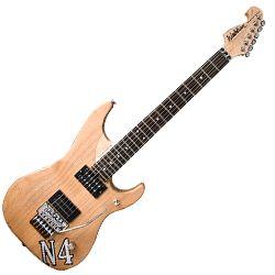 washburn n4vintage nuno bettencourt signature n4 replica 6 string rh electric guitar in vintage. Black Bedroom Furniture Sets. Home Design Ideas