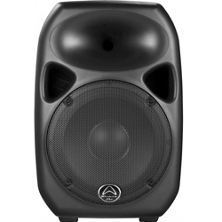 Wharfedale Pro Titan 8 Active mkII-Black 8 Inch 2 Way Bi Amplified System Active Loudspeaker in Black