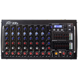 Peavey 03612230 XR-S Bluetooth Enabled POWERED MIXER 1500W Peak 8 Channel Powered Mixer