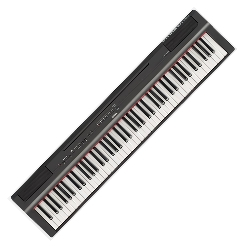 Yamaha P125B 88-Note Digital Piano with Weighted GHS Action - Black
