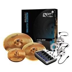 Zildjian G16BS1DS Gen16 A/E Buffed Bronze 14/18/20 DS Cymbal Set