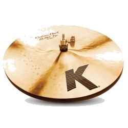 "Zildjian K0943 14"" K Series Custom Dark Hi Hat-Pair"