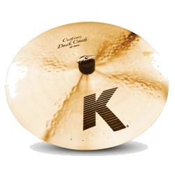 """Zildjian K0951 16"""" K Series Custom Dark Crash Cymbal"""