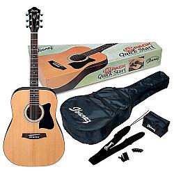 Ibanez V50NJP-NT Acoustic JumpStart Guitar Package - Natural