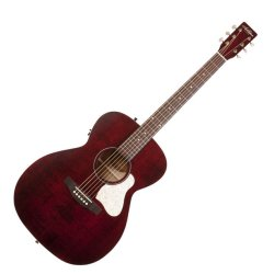 Art & Lutherie 042364 Legacy Tennessee Red QIT Acoustic Electric 6 String RH Guitar