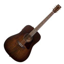 Art & Lutherie 042425 Americana Bourbon Burst QIT Acoustic Electric 6 String RH Guitar