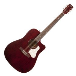 Art & Lutherie 042449 Americana Tennessee Red CW QIT Acoustic Electric 6 String RH Guitar