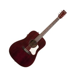 Art & Lutherie 042456 Americana Tennessee Red QIT Acoustic Electric 6 String RH Guitar