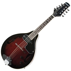 Alabama ALM20ERDS A Style Mandolin with Electronics in Red Sunburst