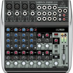 Behringer Q1202USB Xenyx Mixer and USB Audio Interface