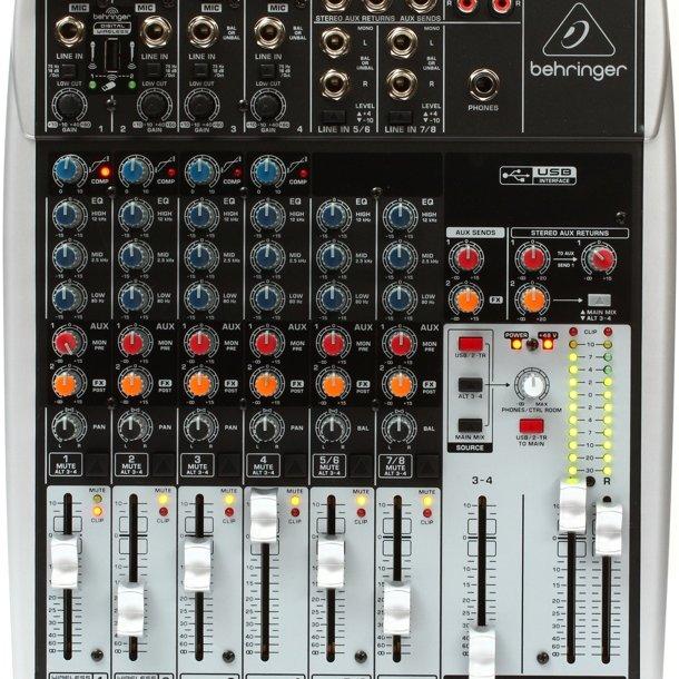 Behringer Q1204USB Xenyx Mixer and USB Audio Interface