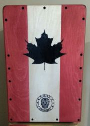 JoJo Cajons 1001CAN Club Cajon - Canuck (Canadian Flag) Finish