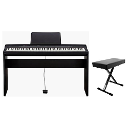 Casio PX160BK+B Privia 88 Key Weighted Scaled Hammer Action Keyboard with bonus pedal and bench
