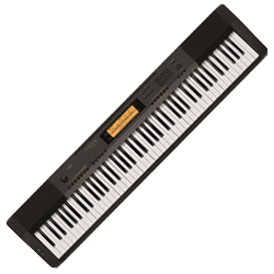 Casio CDP230 88 Note Portable Keyboard with AC Adapter and Pedal