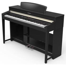 Kurzweil CUP120 EP 88 Key and 78 Rhythm Accompaniment Andante Upright Digital Piano in Ebony
