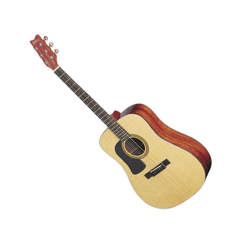Washburn D10SLH Left-Handed Dreadnought Acoustic Guitar (Discontinued Clearance)