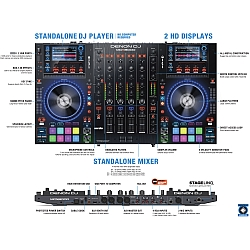 Denon DJ MCX8000 Stand Alone DJ Player and Controller