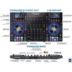 Denon DJ MCX8000 Stand Alone DJ Player and Controller