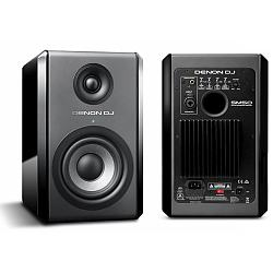Denon DJ SM50 90W Active Reference Monitor with isolation pads