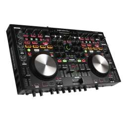 Denon DJ MC6000-MK2 4 Channel, 8 Source Premium Digital DJ Controller Mixer