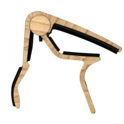 Dunlop 83CM Trigger Acoustic Capo - Maple