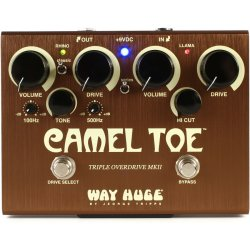 Dunlop WHE209 Way Huge Camel Toe Triple Overdrive MkII