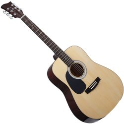 Jay Turser JJ45LHN Dreadnaught Acoustic Guitar Natural Left Handed (discontinued clearance)