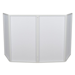 American Audio EVENT-FACADE Portable DJ Booth Concealer in White