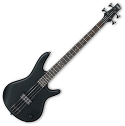 Ibanez GSR100EXBBKF Soundgear RH 4 String Bass Guitar in Flat Black Finish - Discontinued Clearance