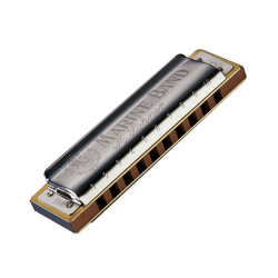 Hohner 1896BX-M-BF Marine Band 1896 Classic Harmonica in M-BF