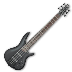Ibanez SR306EB-WK SR Standard 6-String Electric Bass - Weathered Black