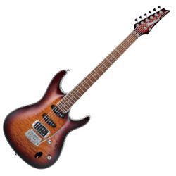 Ibanez SA460QM-ABB SA Standard Series 6 String RH Electric Guitar -Antique Brown Burst