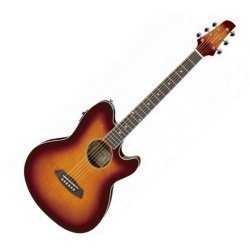 Ibanez TCY10E-AVS Talman RH 6 String Acoustic Electric Guitar - Antique Violin Sunburst (discontinued clearance)