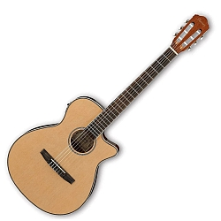 Ibanez AEG8TNE-NT AEG Series Nylon 6 String RH Acoustic Electric Guitar-Natural High Gloss